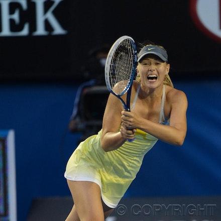 Blakeman_2013_0014793 - 18/1/13, Melbourne, Australia, Day 5 of the Australian Open Tennis. Maria SHARAPOVA defeats Venus WILLIAMS 6-1, 6-3