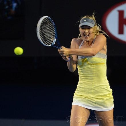 Blakeman_2013_0014807 - 18/1/13, Melbourne, Australia, Day 5 of the Australian Open Tennis. Maria SHARAPOVA defeats Venus WILLIAMS 6-1, 6-3