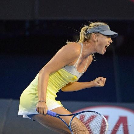 Blakeman_2013_0014810 - 18/1/13, Melbourne, Australia, Day 5 of the Australian Open Tennis. Maria SHARAPOVA defeats Venus WILLIAMS 6-1, 6-3