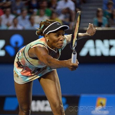 Blakeman_2013_0014833 - 18/1/13, Melbourne, Australia, Day 5 of the Australian Open Tennis. Maria SHARAPOVA defeats Venus WILLIAMS 6-1, 6-3