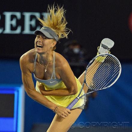 Blakeman_2013_0014865 - 18/1/13, Melbourne, Australia, Day 5 of the Australian Open Tennis. Maria SHARAPOVA defeats Venus WILLIAMS 6-1, 6-3