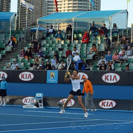 Blakeman_2013_0017819 - 18/1/13, Melbourne, Australia, Day 6 of the Australian Open Tennis.Bojana JOVANOVSKI (SRB) defeats Kimiko DATE-KRUMM 6-2, 7(7)-6(3)