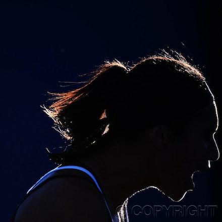 Blakeman_2013_0006362 - 14/1/13, Melbourne, Australia, Day 1 of the Australian Open Tennis. Heather WATSON (GBR) defeats Alexandra CADANTU (ROU) 2-6, 6-3,...