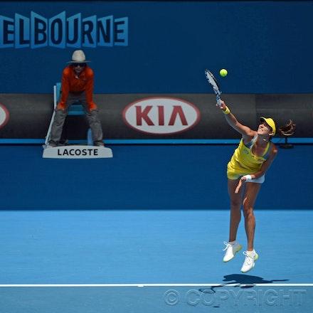 Blakeman_2013_0011036 - 17/1/13, Melbourne, Australia, Day 4 of the Australian Open Tennis. Serena WILLIAMS (USA) defeats Garbine MUGURUZA (ESP) 6-2, 6-0