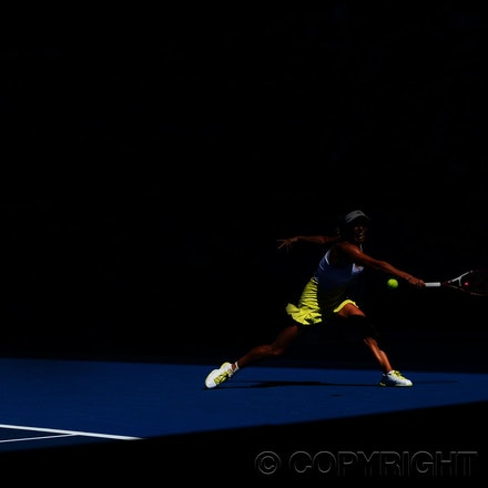 Blakeman_2013_0011775 - 17/1/13, Melbourne, Australia, Day 4 of the Australian Open Tennis. Caroline WOZNIAKI (DEN) defeats Donna VEKIC (CRO) 6-1, 6-4