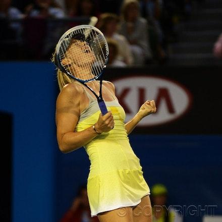 Blakeman_2013_0014944 - 18/1/13, Melbourne, Australia, Day 5 of the Australian Open Tennis. Maria SHARAPOVA defeats Venus WILLIAMS 6-1, 6-3