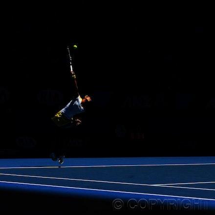 Blakeman_2013_0015777 - 18/1/13, Melbourne, Australia, Day 6 of the Australian Open Tennis. Serena WILLIAMS (USA) defeats Ayumi MORITA (JPN) 6-1, 6-3