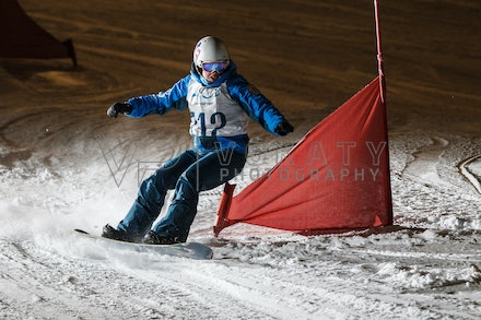 Navy Army Air Force Snowboard Race