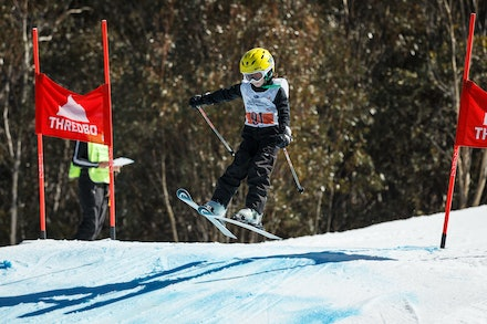 140829_sx_8357 - NSW State Championships-  skier cross race at Thredbo, NSW (Australia) on August 29 2014. Jan Vokaty