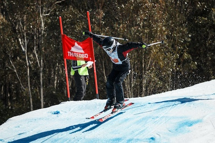 140829_sx_8372 - NSW State Championships-  skier cross race at Thredbo, NSW (Australia) on August 29 2014. Jan Vokaty