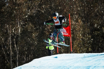 140829_sx_8401 - NSW State Championships-  skier cross race at Thredbo, NSW (Australia) on August 29 2014. Jan Vokaty