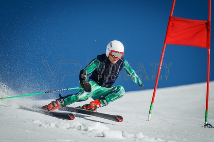 140923_apc_1474 - Australian paralympic ski team athletes training super G during APC speed camp at Perisher, NSW (Australia) on September 23 2014. Photo:...