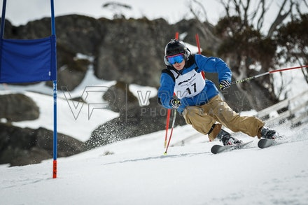 2015Perisher_Cup_4096 - 2015 Perisher Cup Giant Slalom alpine ski race at Perisher, NSW (Australia) on September 19 2015. Photo: Jan Vokaty