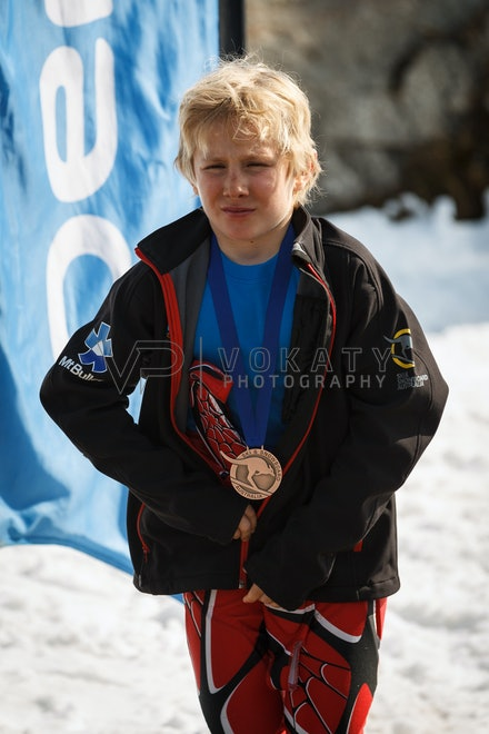 JVOK0800 - SSA National Children's Series Giant Slalom race held at Perisher, NSW (Australia) on September 05 2016. Photo: Jan Vokaty