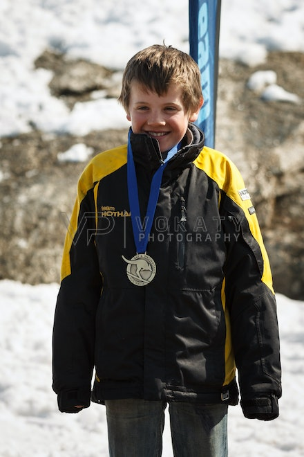 JVOK0807 - SSA National Children's Series Giant Slalom race held at Perisher, NSW (Australia) on September 05 2016. Photo: Jan Vokaty