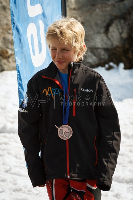 JVOK0809 - SSA National Children's Series Giant Slalom race held at Perisher, NSW (Australia) on September 05 2016. Photo: Jan Vokaty