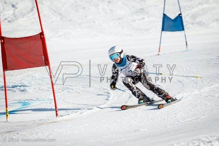 JVOK8350 - SSA National Children's Series Giant Slalom race held at Perisher, NSW (Australia) on September 05 2016. Photo: Jan Vokaty