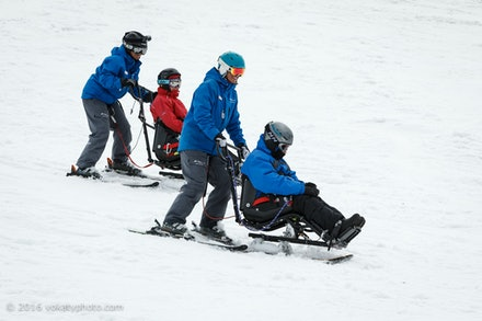 DWA Sit Ski Lesson