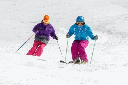 Girls on Skis