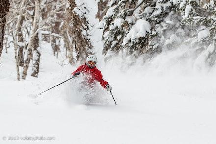 Skiing Japan