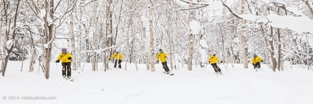 140219_Kamui_8420 - FISS staff skiing and riding  at Kamui Ski Links, Hokkaido (Japan) on February 19 2014. Photo: Jan Vokaty