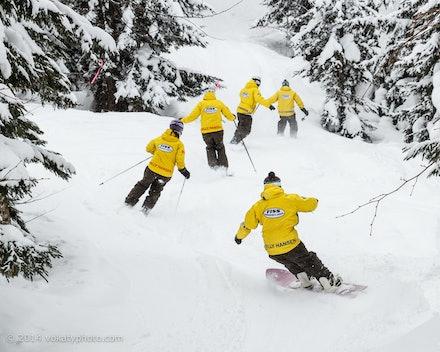 140219_Kamui_8458 - FISS staff skiing and riding  at Kamui Ski Links, Hokkaido (Japan) on February 19 2014. Photo: Jan Vokaty