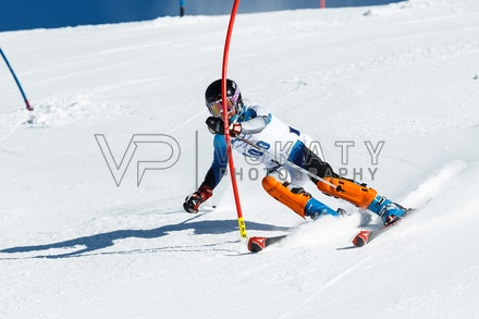 140813_FIS_SL1_3099 - Athlete competing in SSA FIS Slalom race on Hypertrail at Perisher, NSW (Australia) on August 13 2014. Jan Vokaty