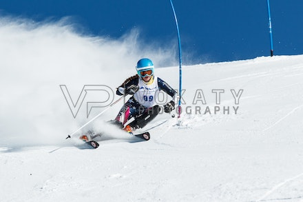 140813_FIS_SL1_3103 - Athlete competing in SSA FIS Slalom race on Hypertrail at Perisher, NSW (Australia) on August 13 2014. Jan Vokaty
