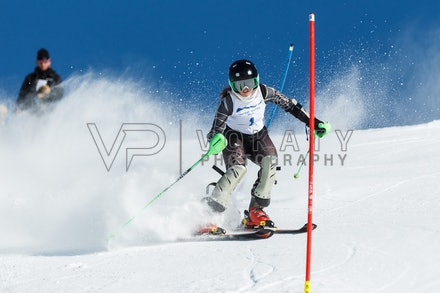 140813_FIS_SL1_3117 - Athlete competing in SSA FIS Slalom race on Hypertrail at Perisher, NSW (Australia) on August 13 2014. Jan Vokaty