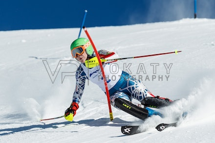 140813_FIS_SL1_3134 - Athlete competing in SSA FIS Slalom race on Hypertrail at Perisher, NSW (Australia) on August 13 2014. Jan Vokaty