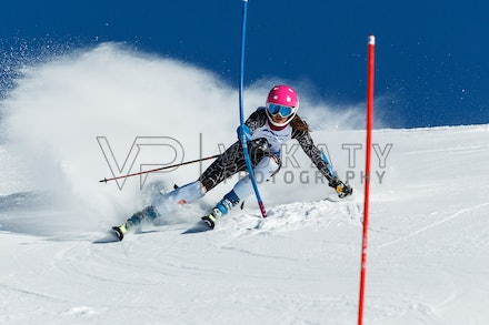140813_FIS_SL1_3136 - Athlete competing in SSA FIS Slalom race on Hypertrail at Perisher, NSW (Australia) on August 13 2014. Jan Vokaty