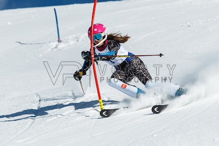 140813_FIS_SL1_3142 - Athlete competing in SSA FIS Slalom race on Hypertrail at Perisher, NSW (Australia) on August 13 2014. Jan Vokaty