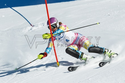 140813_FIS_SL1_3153 - Athlete competing in SSA FIS Slalom race on Hypertrail at Perisher, NSW (Australia) on August 13 2014. Jan Vokaty
