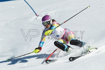 140813_FIS_SL1_3154 - Athlete competing in SSA FIS Slalom race on Hypertrail at Perisher, NSW (Australia) on August 13 2014. Jan Vokaty