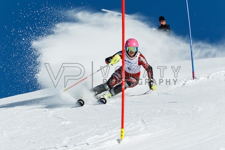 140813_FIS_SL1_3159 - Athlete competing in SSA FIS Slalom race on Hypertrail at Perisher, NSW (Australia) on August 13 2014. Jan Vokaty