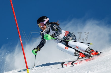 140814_FIS_SL2_4463 - Athlete competing in FIS Slalom race on Hypertrail at Perisher, NSW (Australia) on August 14 2014. Jan Vokaty