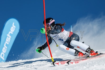140814_FIS_SL2_4464 - Athlete competing in FIS Slalom race on Hypertrail at Perisher, NSW (Australia) on August 14 2014. Jan Vokaty