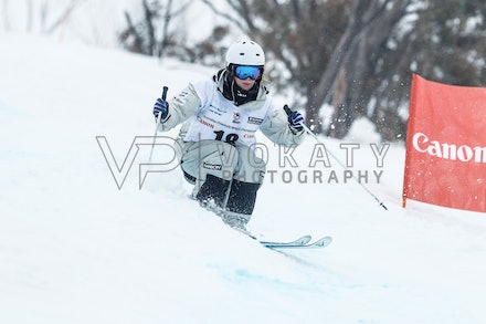140819_Moguls_5780 - Athlete competing during day 1 of the Canon Australian Freestyle Mogul Championships at Perisher, NSW (Australia) on August 19 2014....