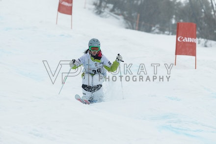 140819_Moguls_5899 - Athlete competing during day 1 of the Canon Australian Freestyle Mogul Championships at Perisher, NSW (Australia) on August 19 2014....