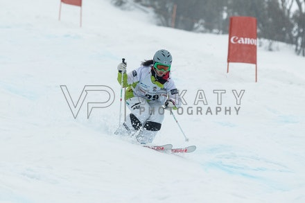 140819_Moguls_5905 - Athlete competing during day 1 of the Canon Australian Freestyle Mogul Championships at Perisher, NSW (Australia) on August 19 2014....