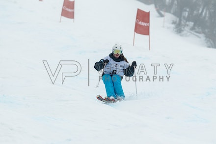 140819_Moguls_5953 - Athlete competing during day 1 of the Canon Australian Freestyle Mogul Championships at Perisher, NSW (Australia) on August 19 2014....