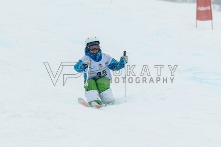 140819_Moguls_5976 - Athlete competing during day 1 of the Canon Australian Freestyle Mogul Championships at Perisher, NSW (Australia) on August 19 2014....