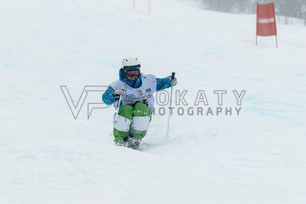 140819_Moguls_5977 - Athlete competing during day 1 of the Canon Australian Freestyle Mogul Championships at Perisher, NSW (Australia) on August 19 2014....