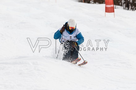 140819_Moguls_6415 - Athlete competing during day 1 of the Canon Australian Freestyle Mogul Championships at Perisher, NSW (Australia) on August 19 2014....