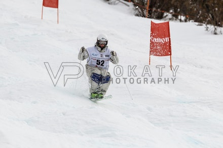 140819_Moguls_6437 - Athlete competing during day 1 of the Canon Australian Freestyle Mogul Championships at Perisher, NSW (Australia) on August 19 2014....