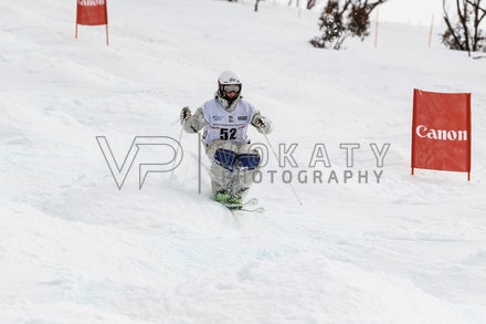140819_Moguls_6443 - Athlete competing during day 1 of the Canon Australian Freestyle Mogul Championships at Perisher, NSW (Australia) on August 19 2014....