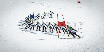 Greentree_Final_Flat - Lachlan Greentree during 1st run of Blue Cow Cup 2014 ski race at Perisher, NSW (Australia) on September 05 2014. Jan Vokaty