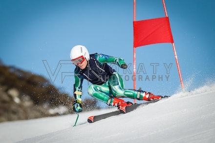 140923_apc_1428 - Australian paralympic ski team athletes training super G during APC speed camp at Perisher, NSW (Australia) on September 23 2014. Photo:...