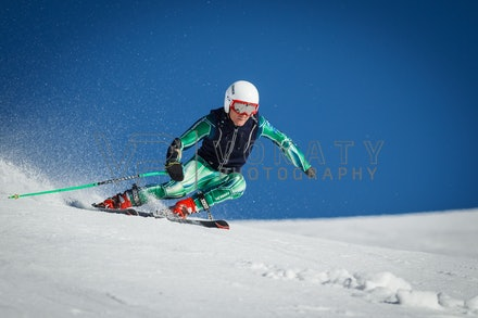 140923_apc_1472 - Australian paralympic ski team athletes training super G during APC speed camp at Perisher, NSW (Australia) on September 23 2014. Photo:...