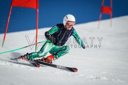 140923_apc_1476 - Australian paralympic ski team athletes training super G during APC speed camp at Perisher, NSW (Australia) on September 23 2014. Photo:...